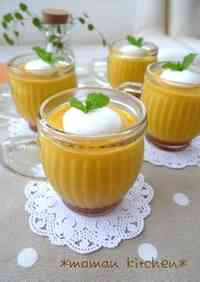 Rich Kabocha Pudding