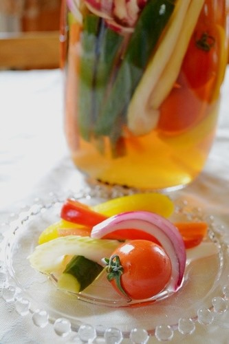 Pickled Cucumber & Carrot