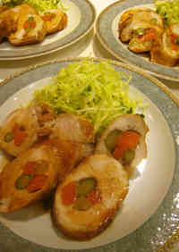 Tender Chicken Breast Rolls
