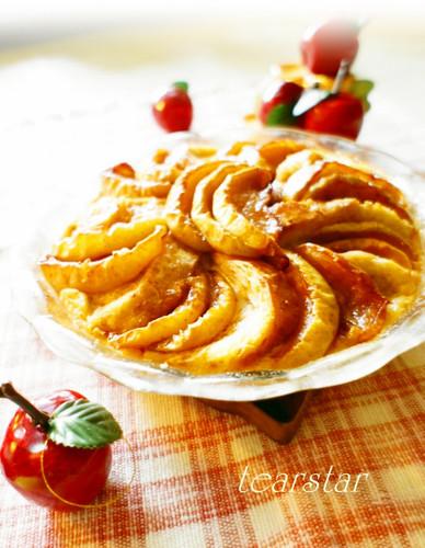 Baked Apple Cinnamon Maple Bread Pudding