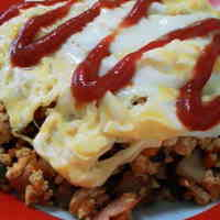 Tofu Omurice for Dieters