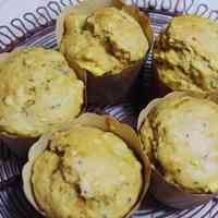 Dense Sweet Potato Muffins with Pancake Mix