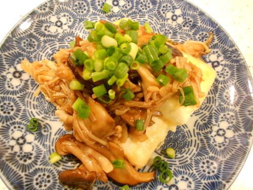 Tofu Steak With Mushroom Sauce