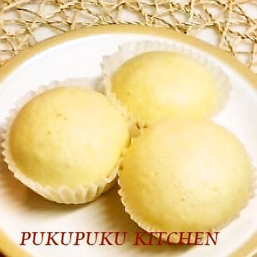 Chewy Steamed Bread with Pancake Mix & Bread Flour