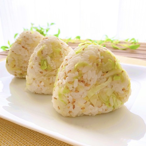 Cabbage Rice Balls