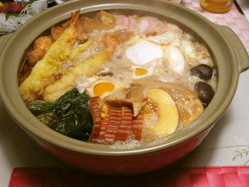 Piping Hot Udon Noodle Hot Pot