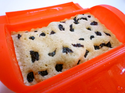 Soy Milk Bread in a Silicone Steamer