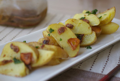 Anchovy Flavored Potatoes