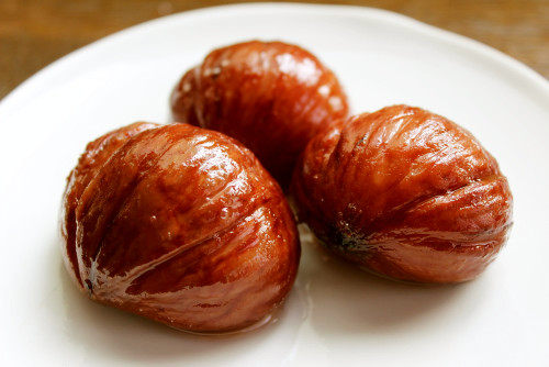 Chestnuts Simmered in White Wine