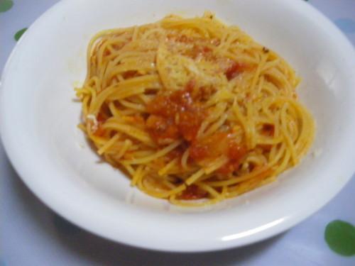Simple and Delicious♡ Tomato Spaghetti