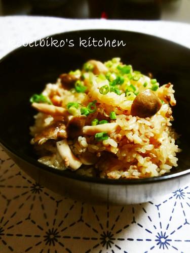 Seasoned Rice with Shio-koji Soboro