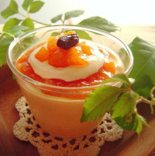 A Fall Dessert Persimmon Tiramisu Mousse