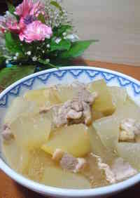 Winter Melon & Chicken Simmer, to Enjoy the Taste of Chicken