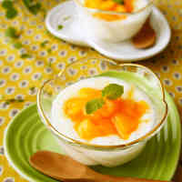 Persimmon & Maple Syrup Yogurt