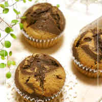 Coffee & Chocolate Marbled Muffins
