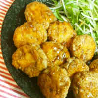 Healthy Minced Chicken and Tofu Tsukune
