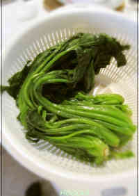An Easy Method for Parboiling Greens