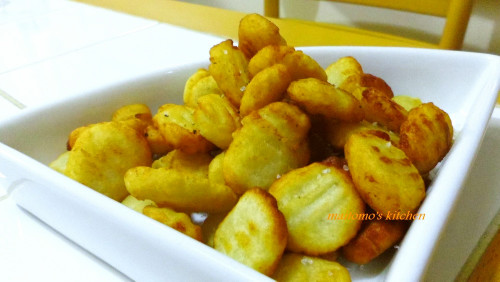 Fried Gnocchi Made with Mashed Potatoes