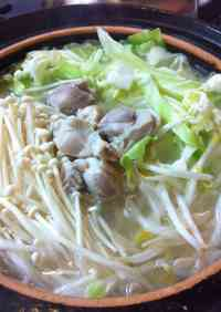 Chicken Hot Pot Using Shio-Koji