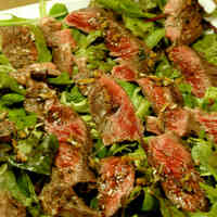 Tagliata (Thin Sliced) Beef Steak Salad