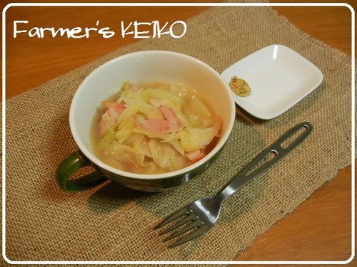【Farmhouse Recipe】Simmered Cabbage