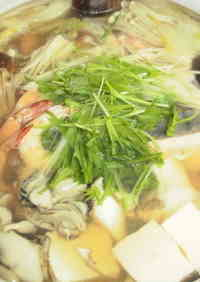 Ultimate Japanese Hot Pot with Seafood