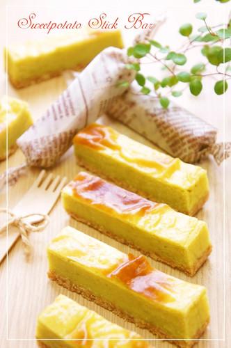 Sweet Potato Cake Bars