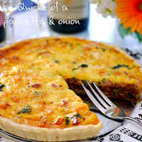 Sublime Pancetta and Caramelized Onion Quiche