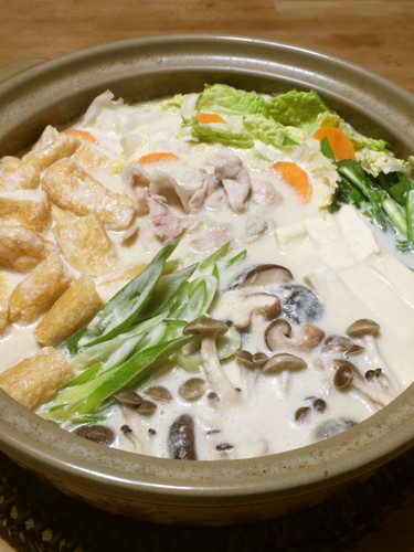Sesame and Soy Milk Hot Pot