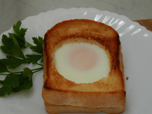 Toad in a Hole (leak-proof)