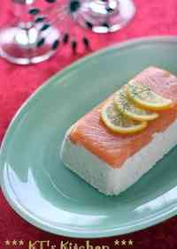 Salmon Dill Terrine (Christmas Appetizer)