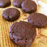 My Sister's Favorite Cocoa Cookies with Vegetable Oil & Rice Flour
