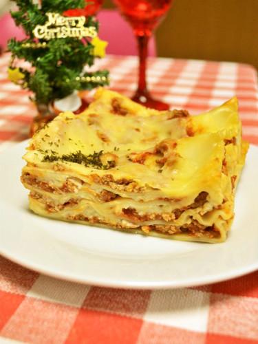 Lasagna for Christmas Dinner