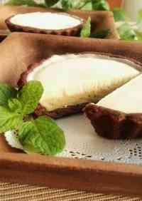 Chocolate Pistachio Ice Cream Tart