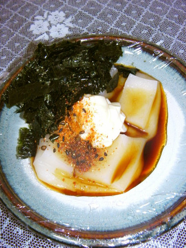 Use the Microwave on New Years to Make Easy Just-Pounded Style Mochi With Mayonnaise and Shichimi Pepper
