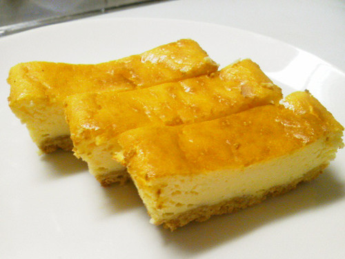 Easy Light Baked Cheesecake