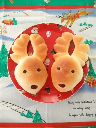 Christmas Reindeer Bread
