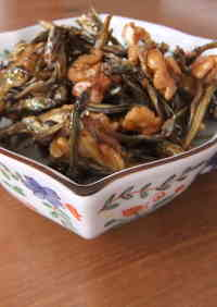 Osechi (New Year's Dish) Made Easy! Tazukuri (Candied Dry Sardines)