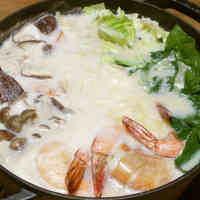 Cheese and Soy Milk Hot Pot
