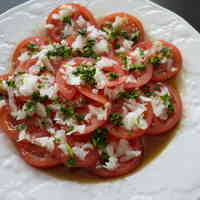 Tomato Salad! With Japanese-Style Dressing