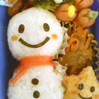 Mr. Snowman Bento