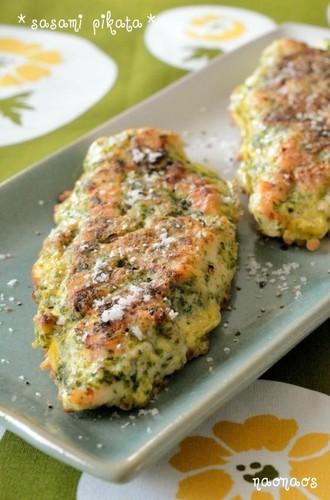 Simple Garlic & Aonori Chicken Tender Piccata