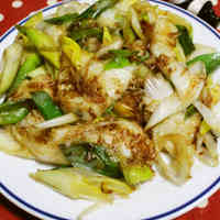 Unbeatable Bonito and Soy Sauce Seasoning! Easy Japanese Leek Rice Cakes