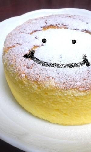 Halloween Soufflé Cheesecake