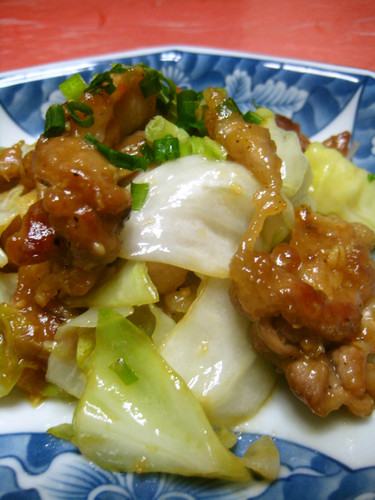 Pork and Cabbage with Miso Sauce (New Twice-Cooked Pork)