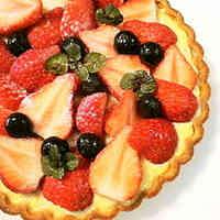 Strawberry Tart: Brimming with Custard Cream