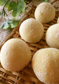 Fluffy White Bread Rolls Inspired by the Novel Heidi
