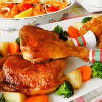 Roast Chicken for Christmas