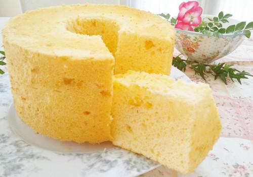 Yogurt-Rich Chiffon Cake