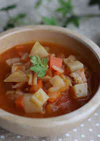 Easy Minestrone Packed with Vegetables